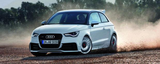 Surprize, surprize: Audi dezvaluie noul Audi A1 quattro, un mini-hot-hatch de 256 CP