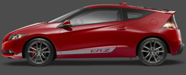 Surprize, surprize: Honda CR-Z primeste o versiune supraalimentata din fabrica