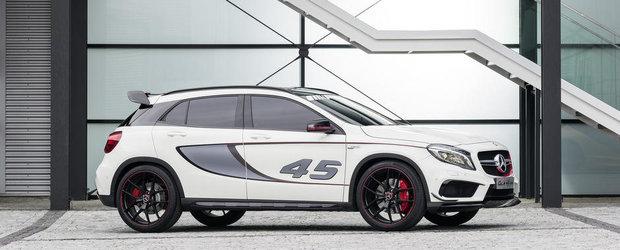 Surprize, surprize: Mercedes dezvaluie noul GLA45 AMG!