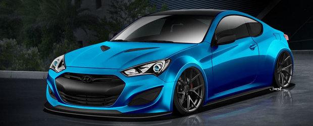 Surprize, surprize: Un nou proiect Genesis Coupe isi anunta prezenta la SEMA 2013