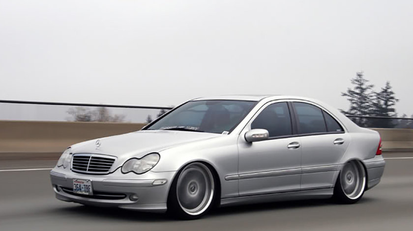 Suspensie Sport reglabila Mercedes Benz C-Class W203 (00-07)