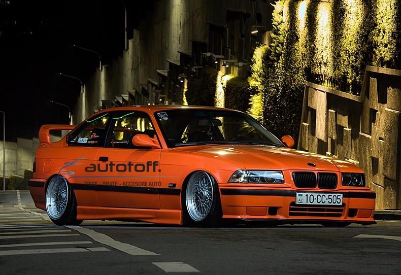 Suspensie sport reglabila pe duritate BMW E36 (92-99) FK Germania