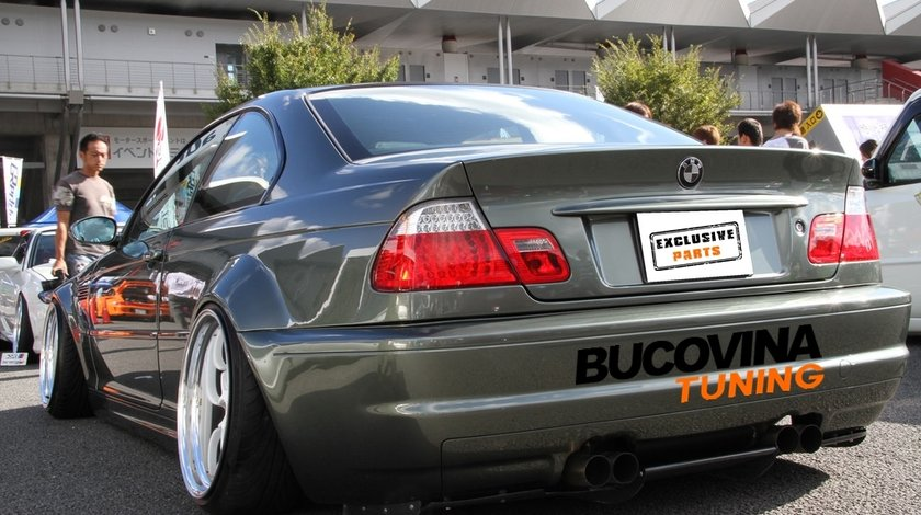 Suspensie Sport reglabila pe inaltime si duritate BMW Seria 3 E46 (98-05)