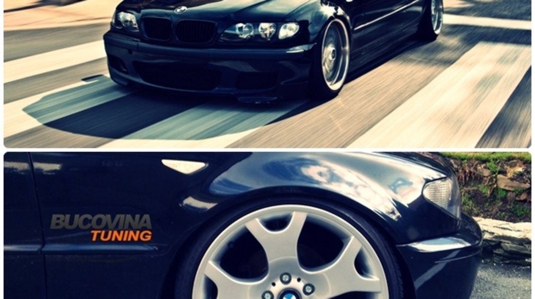 SUSPENSIE SPORT REGLABILA PE INALTIME SI DURITATE BMW SERIA 3 E46 (98-04)