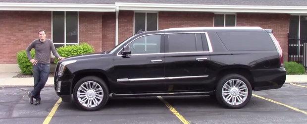 SUV-ul american de 100.000 de dolari. Cum arata la exterior si interior cel mai scump Cadillac Escalade
