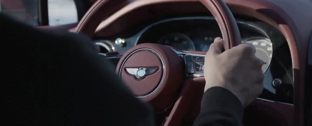 SUV-ul Bentley Bentayga se prezinta prin intermediul unui nou clip