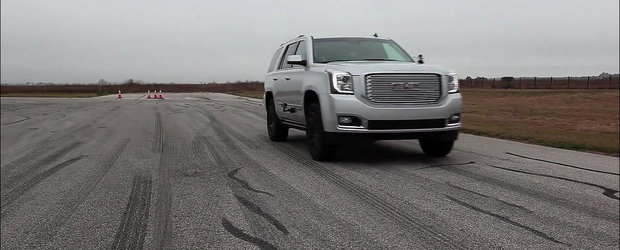 SUV-ul care sfideaza legile fizicii: 2.5 tone si 0 - 96 km/h in 4.5 secunde