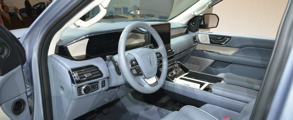 SUV-ul cu care americanii vor sa concureze Mercedes-ul GLS. ASA arata el in realitate