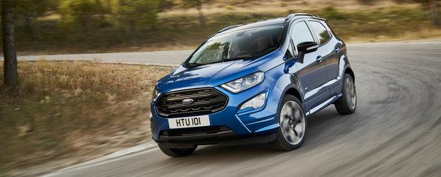 """SUV-ul """"de Craiova"""" este la mare cautare in Europa. Vanzarile lui Ford Ecosport s-au triplat in ultimele sase luni"""