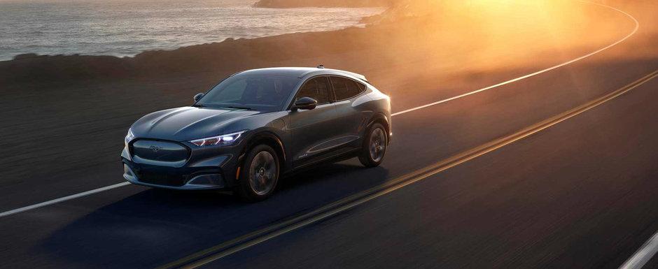 SUV-ul inspirat de Mustang a debutat oficial. Ford a publicat recent primele detalii si imagini
