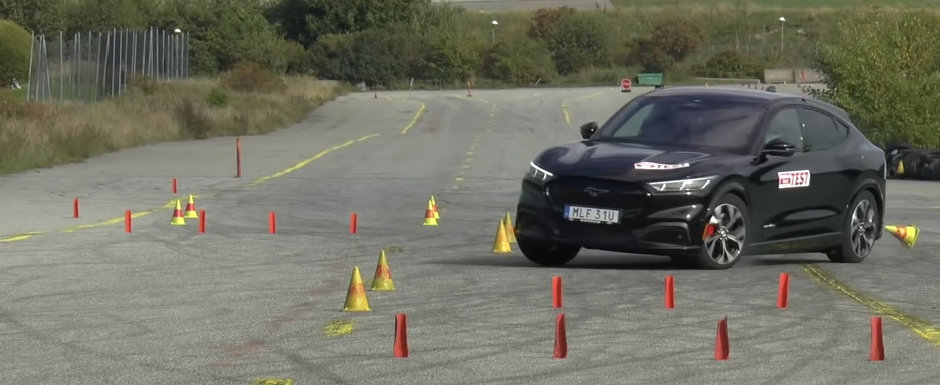 SUV-ul inspirat de Mustang s-a facut de ras la testul elanului. VIDEO ca sa te convingi si singur