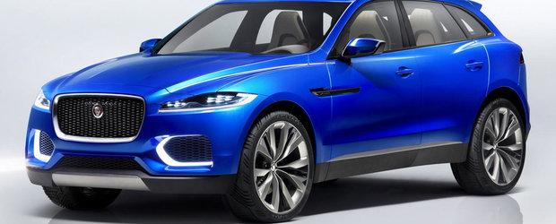 SUV-ul Jaguar se strica in timpul testelor de pe Nurburgring