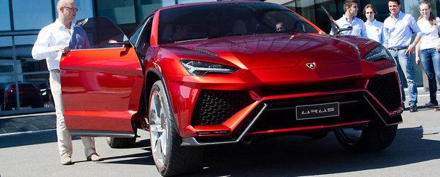 SUV-ul Lamborghini a primit unda verde pentru productie