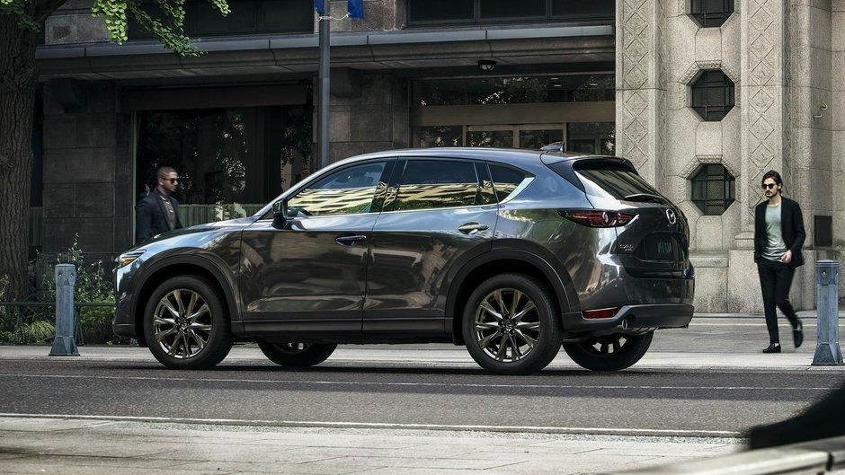 SUV-ul Mazda CX-5 primeste upgrade de confort si tehnologie pentru 2019
