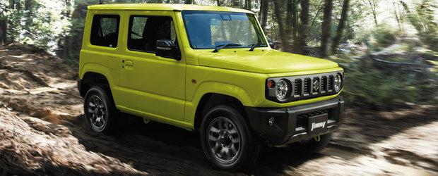 Suzuki a lansat noua generatie JIMNY. Regele off-roaderelor mici s-a intors si este mai bun ca oricand
