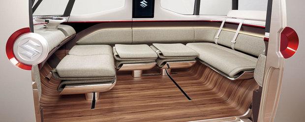 Suzuki Air Triser, conceptul care anunta dorinta japonezilor de a face un van