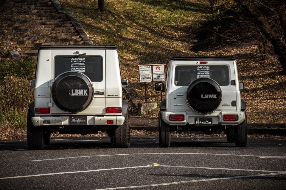 Suzuki Jimny cu pachet Liberty Walk - Suzuki Jimny cu pachet Liberty Walk