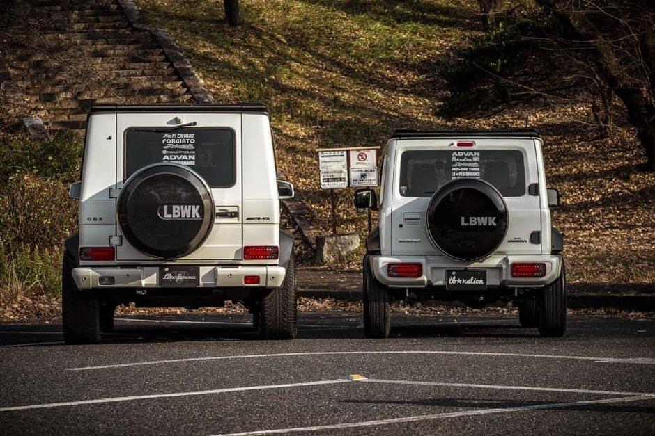 Suzuki Jimny cu pachet Liberty Walk