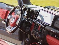 Suzuki Jimny transformat in Brabus G63 AMG