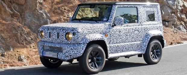 Suzuki se bazeaza pe amatorii de off-road. Vrea ca vanzarile sa creasca cu 20% dupa lansarea noului Jimny