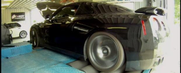 Switzer R1K GT-R : SuperGodzilla urca pe dyno!