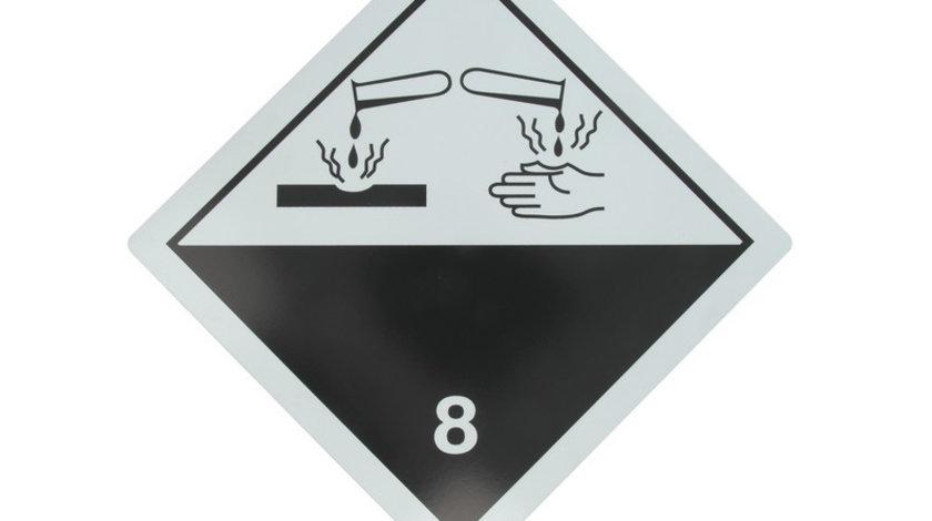 Tablita placa avertizare marcaj ADR 8, Cargoparts