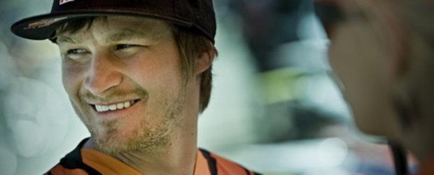 Taddy Blazusiak vine la Red Bull Romaniacs
