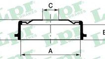 Tambur frana OPEL ASTRA F Hatchback (53, 54, 58, 5...