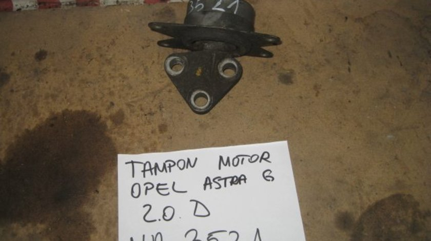 Tampon motor opel astra g