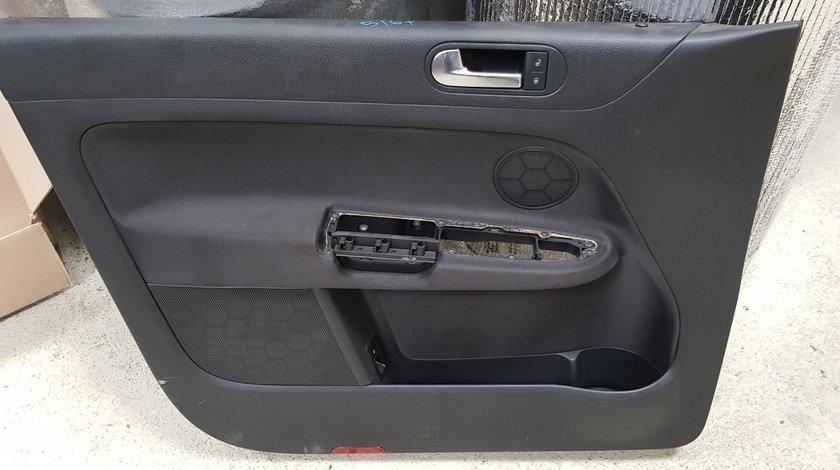 Tapiterie fata usa interioara sofer Vw Golf 5 Plus 6 Plus 2006 2007 2008 2009 2010