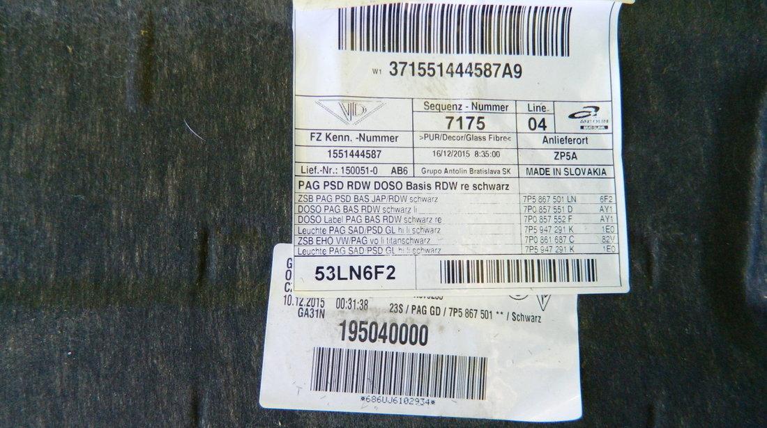 Tapiterie plafon Porsche Cayenne model 2011-2016 cod 7P5867501