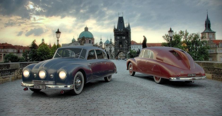 Tatra 87, masina care a omorat mai multi ofiteri nazisti decat Aliatii