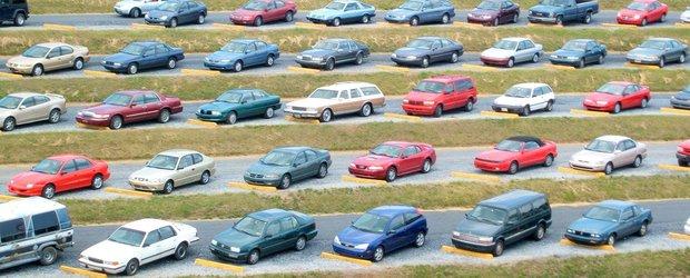 Taxa Auto, amanata un an de zile, pentru masinile inmatriculate in Romania