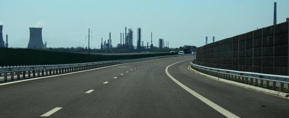 TAXA DE CIRCULATIE pe o autostrada care nu are parcari, benzinarii sau toalete. Asta-i Romania!