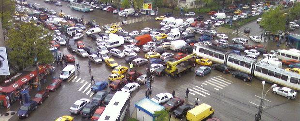 TAXA PE AGLOMERATIE - o noua taxa supusa aprobarii ii loveste pe soferii din Bucuresti