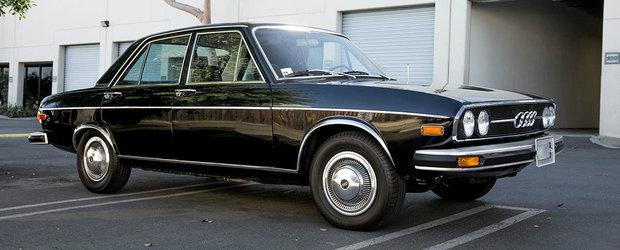 Te intalnesti rar cu o asa ocazie. Pentru ce suma poti lua acasa acest Audi 100 din 1974
