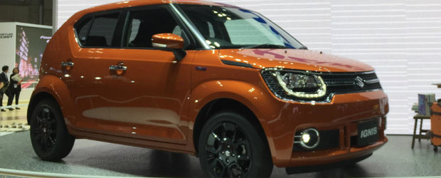 Te vei indragosti de el numaidecat. Suzuki a lansat noul Ignis la Salonul Auto de la Paris