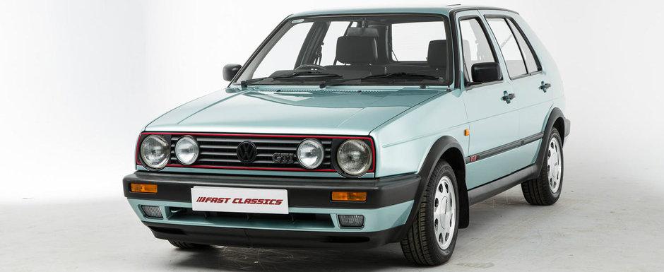Te vei indragosti instant de el. Cu cat se vinde acest Golf GTI din anii '90