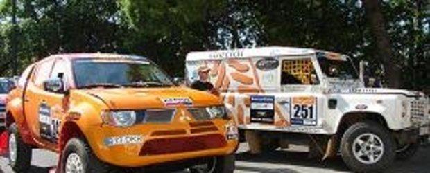 Team Dakar Romania prezenta la Pax Rally, Portugalia