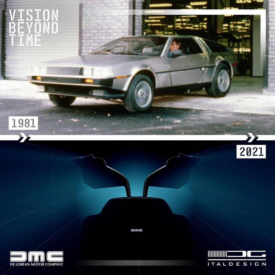 Teaser DeLorean DMC-12