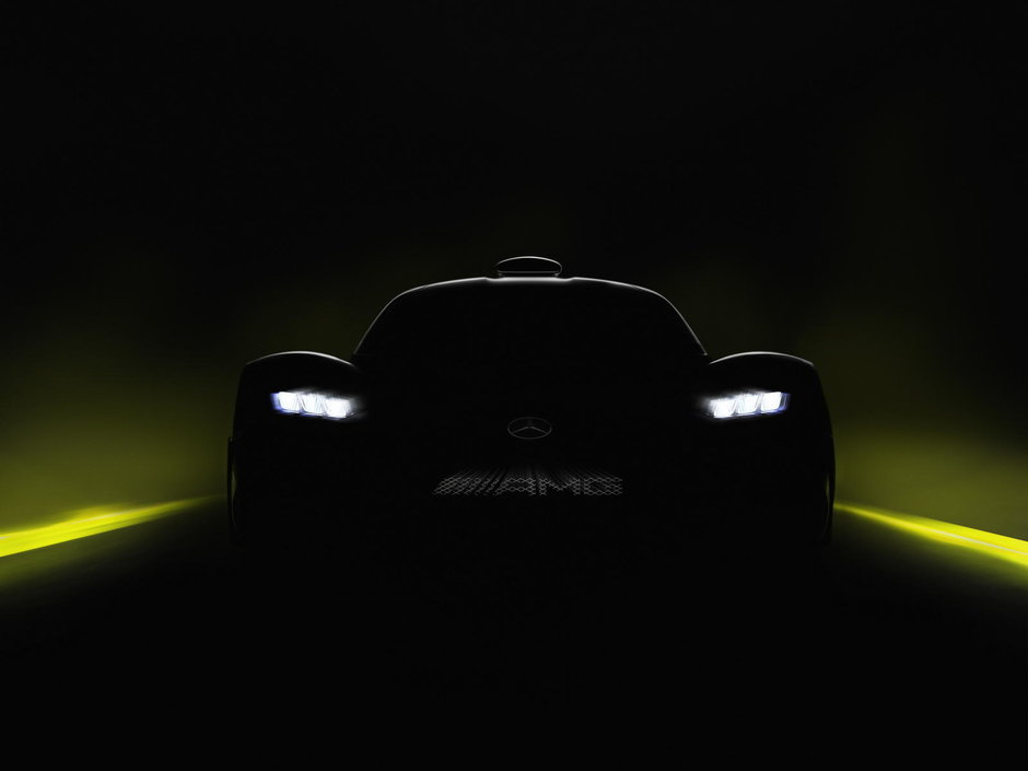 Teaser Mercedes-AMG Project One