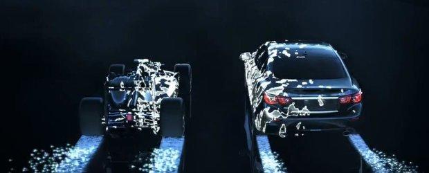 Teaser pentru Infiniti Q50 Eau Rouge, un sedan cu elemente din F1