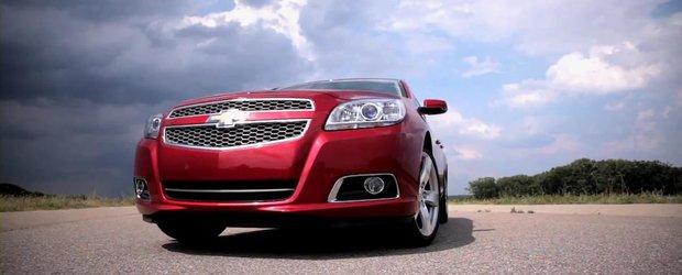Teaser Video: Chevrolet Malibu Turbo in actiune