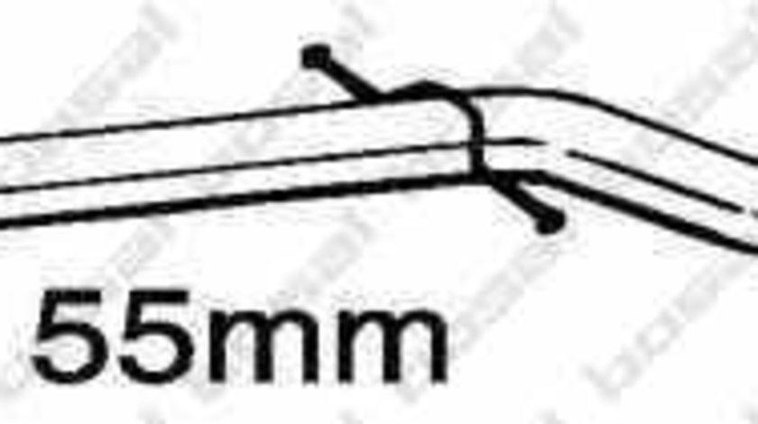 Teava reparatie catalizator CITROËN C5 I DC BOSAL 889-545
