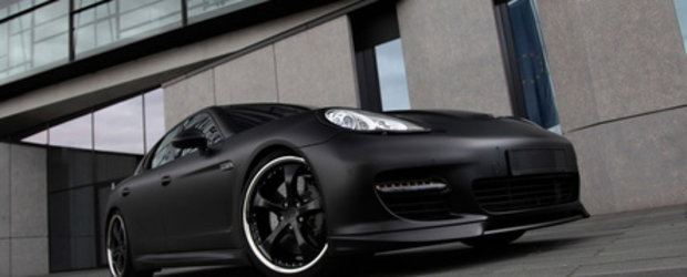TechArt Panamera Black Edition arata... impresionant!