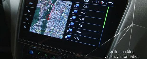 Tehnologiile instalate pe noua Octavia facelift, prezentate in actiune de cehii de la Skoda