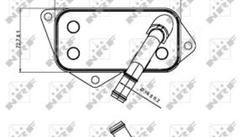 Termoflot radiator ulei BMW Seria 1 (E81), 1 (E82), 1 (E87), 1 (E88), 1 (F20), 1 (F21), 2 (F22, F87), 2 (F23), 3 (E90), 3 (E91), 3 (E92), 3 (E93), 3 (F30, F80), 3 (F31), 3 GRAN TURISMO (F34), 4 (F32 1 cod intern: CI7055CF
