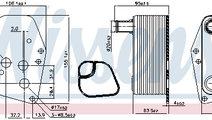 Termoflot radiator ulei BMW Seria 1 (E87), 3 (E46)...