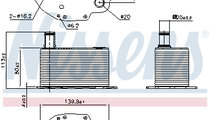 Termoflot radiator ulei BMW Seria 3 (E46), 3 (E90)...
