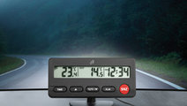 Termometru Auto Digital De Interior - Exterior si ...
